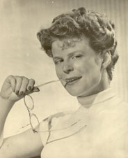 Joy, while at Holiday Theatre, in 1953
